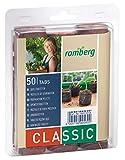 Romberg Kokos-Quelltabletten ø 36 mm (50 Stück; für Kräuter, Blumen und Gemüse; Start-Dünung; torffrei) 10091001