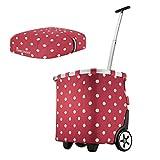 Reisenthel carrycruiser 40 Liter Einkaufstrolley + Cover Ruby dots