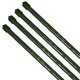 10x Pflanzstab Pflanzenstab Pflanzstäbe grün Ø 11 x 900 mm