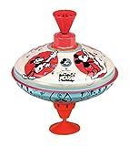 Bolz 52362 Brummkreisel Disney Mouse 16 cm, Blech Schwungkreisel, klassischer Pumpkreisel, Blechkreisel mit Mickey Maus Motiv, Kreisel mit Standfuss, Spielzeugkreisel für Kinder ab 18m+, bunt