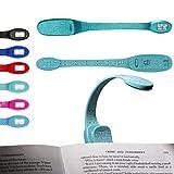 Flexilight Xtra Leselicht Flexibel Tragbar LED Klammer Lesen Licht Buchliebhaber Geschenk - Xtra Blaue Worte