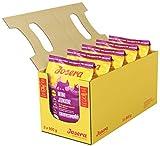 JOSERA MiniJunior, Welpenfutter für kleine Rassen mit Ente und Lachs, für eine optimale Entwicklung, Super Premium Trockenfutter für wachsende Hunde, 5er Pack (5 x 900 g)