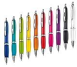 presents & more 10 Stck Kugelschreiber in trendigen Farben (farbig Sortiert)