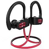 Mpow Flame Bluetooth Kopfhörer, IPX7 Wasserdicht Kopfhörer Sport, Bluetooth 5.0/7-10 Stunden Spielzeit/Bass Technologie, Sportkopfhörer Joggen/Laufen, In Ear Kopfhörer mit Mikrofon für iPhone Android