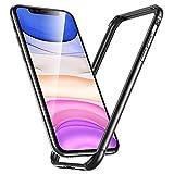 ESR Bumper Hülle kompatibel mit iPhone 11(2019) - Metallrahmen Schutz mit weichem inneren Bumper [Keine Signalstörungen] [Erhöhter Kantenschutz] für iPhone 11(2019) - Kosmosgrau