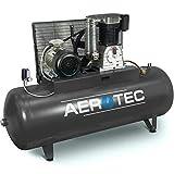 AEROTEC Druckluft-Kompressor 10 PS | 7,5 kW 10 bar 500 l Kessel 400 Volt ölgeschmierter Kolben-Kompressor