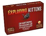 Asmodee ASMD0007 Exploding Kittens Party-/Kartenspiel-Deutsch