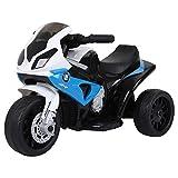 Toyas Lizenz Kinder Elektrofahrzeug Motorrad Elektro Akku Bike Dreirad BMW Blau