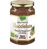 Rigoni di Asiago Nocciolata - Haselnusscreme mit Kakao - Das Original aus Italien - Cremig-leichter Bio-Brotaufstrich, 1er Pack (1 x 700 g)