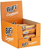 BiFi Currywurst – Herzhafter Salami Fleischsnack mit Currysauce – Pikant gewürzte Wurst im Weizenbrötchen als Snack to go – 20er Pack (20 x 50 g)