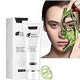 FFOMG 2 Stücks Green Tea Face Peel Mask Mitesserentferner, Peeling-Maske, Mitesser Peel-Off-Maske, Deep Cleansing Blackhead & Pore (2 Stück)