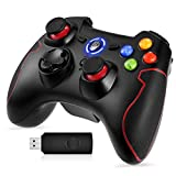 EasySMX PS3 Controller, 2.4G Wireless Controller für PC (Windows XP / 7/8 / 8.1/10) und PS3, Android, Vista, TV-Box Tragbare Gamepad