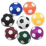Bakiauli Tischkicker Zubehör,Kickerbälle,8 Farben Kugeln Mini Ball perfekt für Tischkicker-Bälle Profi(8stk)