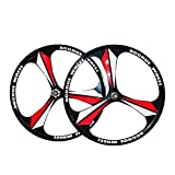 ALTRUISM MTB-Felge 3 Speichen Kassette Magnesium-Leichtmetallfelgen 26'Zoll Mountainbike-Felgen Fahrradfelgen