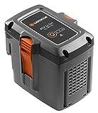 GARDENA System Akku BLi-40/160: Zubehör für viele GARDENA Rasenmäher, Hochdruckreiniger, Trimmer, Bläser und Heckenscheren, 40 V Akkuleistung mit 4.2 Ah Kapazität, LED Ladezustandsanzeige (9843-20)