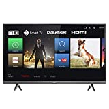 TCL 32DS520F LED Fernseher 80 cm (32 Zoll) Smart TV (Full HD, Micro Dimming, Triple Tuner, T-Cast, Dolby Audio, HbbTV, HDMI, USB) schwarz