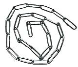 Stahlkette/Eisenkette (verzinkt) 22mm Gliedlänge / 8mm Gliedbreite – 25cm 50cm 75cm 100cm Kettenlänge zur Auswahl (100cm)