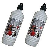 Moritz 2 Liter Bio Ethanol  95% - 96,6% Premium für Ethanolkamine Gelkamine Bambusfackeln Rückstands lose Verbrennung aus nachwachsenden Rohstoffen