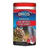 Bros BROS-GRAN-MYSZ250 Granulat für Mäuse und Ratten, 250 g