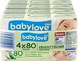 babylove Feuchttücher 4x80St, 320 St