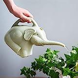 Hpybest Garten-Gießkanne Elefant aus Kunststoff für den Garten, 2 Liter