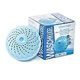 Waschkugel   für alle Textilien   Waschen ohne Waschmittel   hygienisch sauber   umweltschonend   ohne Tenside & Phosphate   auch für Allergiker   für bis zu 1000 Waschladungen   Das blaue Wunder (1)