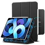 ESR Magnetische Hülle für iPad Air 10.9 2020(4.Generation) und iPad Pro 11 2018 [Pencil 2 Kompatibel] [Trifold Smart Case] Rebound-Serie, Schwarz.