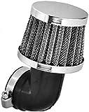 35 mm 90° Tuning Sport Luftfilter - Air Filter für Motorrad Roller Quad Moped Mofa