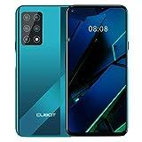 CUBOT X30 Smartphone ohne Vertrag, 4G Handy, 8GB RAM+256GB ROM, 6.4 Zoll HD+ Display, 4200mAh Akku, Android 10.0, Fünf Kameras 48MP, Dual SIM, NFC, Face ID, Global Version, Gradient+Grün