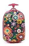 Bayer Chic 2000 Kinder-Trolley, Hartschale, Flowers Kindergepäck, 46 cm, 14 Liter, Flowers