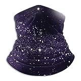 YudoHong Halstuch Hintergrund Mond Sternenhimmel Milchig 10'x 11,6' Zoll Multifunktionales Tuch/Kopftuch/Halstuch Multicolor