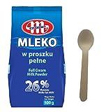 Mlekovita Vollmilchpulver 26% Fett Nettogewicht - 500g mit Löffel 16cm