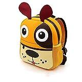 Kindergartenrucksack für Jungs und Mädchen,AOBRTAK Kindergartentasche mit Design niedliche Tieren, Kinder Rucksack, ein tolles Geschenk, Klein Kinderrucksack für Jungen Mädchen 2 - 7 Jahre - Hund