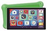 Lexibook MFC514DE Deluxe-10-Zoll-Tablet für Kids mit Lern-Apps Spielen Kindersicherung Schutzhülle-Android, Wi-Fi, Bluetooth, Google Play, YouTube, weiß/Grün