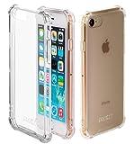 JProtect Hülle kompatibel mit iPhone 7/8 Shockproof Bumper | Transparentes Stoßsicheres TPU | case Cover Schutzhülle | Perfekte Passform |
