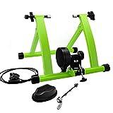 Kyrieval Fahrrad Rollentrainer Heim Fahrradtrainer Stahl Fahrrad Übung Ständer mit Geräusch Reduktions