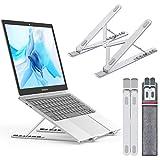 NULAXY Laptop Ständer, Notebook ständer für Ipad und Dell, HP, Samsung, Lenovo alle 10'~15.6' Notebooks - Silber