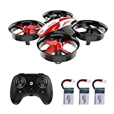 Holy Stone HS210 Mini Drohne RC Drone für Kinder und Anfänger, Mini Quadrocopter RC Helikopter Indoor mit 3 Akkus, Automatischer Höhehaltung,Start/Landung mit Einem Knopfdruck