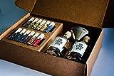 DO YOUR GIN – Komplettes Gin Set - Gin selber-machen - 12 Hochwertige Botanicals in schönen Gewürz-Flaschen - Perfektes Geschenk für Männer und Frauen - Gin-Baukasten - 10 Verschiedene Gin Gewürze