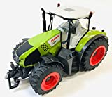 BUSDUGA RC Ferngesteuerter Traktor CLAAS 870 Axion 1:16 - passend zu den Bruder Anhänger, inkl. Batterien - 2,4 GHz - RTR (Ready-to-Run) Sofort Spielbereit - Lizenz NACHBAU