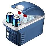 delibett Mini Kühlschrank Gefrierschrank, 8 Liter Kompressor-Kühlbox, Elektrische Kühlbox Gefrierbox, tragbare Auto Absorber-Kühlbox Für Auto Zuhause Büro Picknick im Freien Von