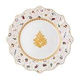 Villeroy & Boch Toys Delight Frühstücksteller, Jubiläumsedition, Premium Porcelain, weiß, 24 cm