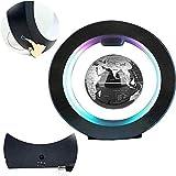 LULUTING 3' Magnetic Levitation Schwebender Globus O-Form-Anti Gravity Magnetic Levitation Globe Floating-LED-Lampe for Kinder Geschenk Tischdekoration