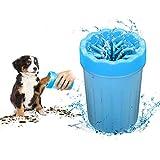 kuaetily Pfote Reiniger Pfotenreiniger Fußreinigungsbürste Hundepfote Reiniger Pfote Reiniger für Haustiere (Blau)