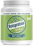 Bio Reisprotein (1000g)   Eiweißpulver   Veganes Protein Pulver   Ideal für Fitness und Muskelaufbau   83% Protein   Ideal für Low Carb, Paleo und Keto