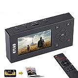 Audio Video Grabber digitalisiert Videobänder Direkt auf Speicherkarte, 3 Zoll TFT Bildschirm AV Recorder für Videorecorder, VHS-Kassetten, Hi8, Camcorder, DVD, Digitaler Videoaufnahme