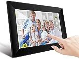 UCMDA Digitaler WiFi-Bilderrahmen, 10 Zoll (25,4 cm), mit Touchscreen, FHD IPS, 1280 x 800, 16 GB, automatische Rotation, Smart-Rahmen, Teilen von Bildern und Videos auf der App