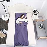MojiDecor Hüttenschlafsack Reiseschlafsack Ultraleicht & Kompakt Schlafsack Reisedecke in Einem für Reise Hostel Angeln Wandern Zelten (115 x 210 cm)