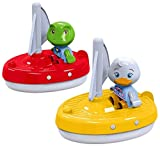 Big Spielwarenfabrik 8700000254 AquaPlay 2 Segelboote + 2 Figuren