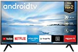 TCL 40ES561 LED Fernseher 100 cm (40 Zoll) Smart TV (Full HD, Triple Tuner, Android TV, Prime Video, HDR, Micro Dimming, Dolby Audio, Google Assistant) schwarz